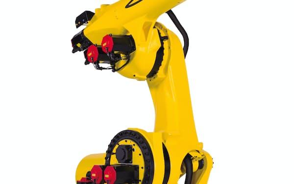 ファナックは1トンまで持ち運べる新型ロボットを12月から量産する