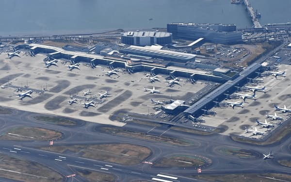 羽田空港の保税蔵置場をオークションに活用する
