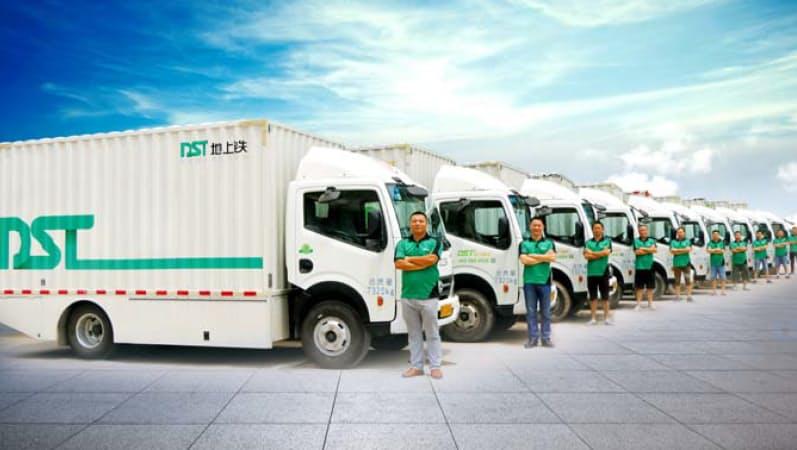 地上鉄は中国でEV物流車に特化したレンタル事業を展開する