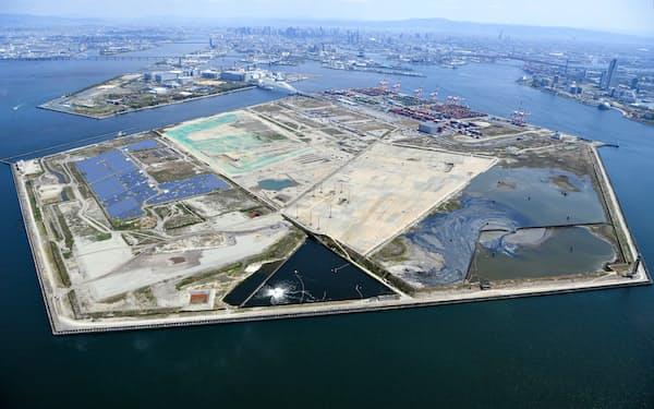 2025年開催の万博会場予定地の大坂・夢洲はIRの整備予定地でもある