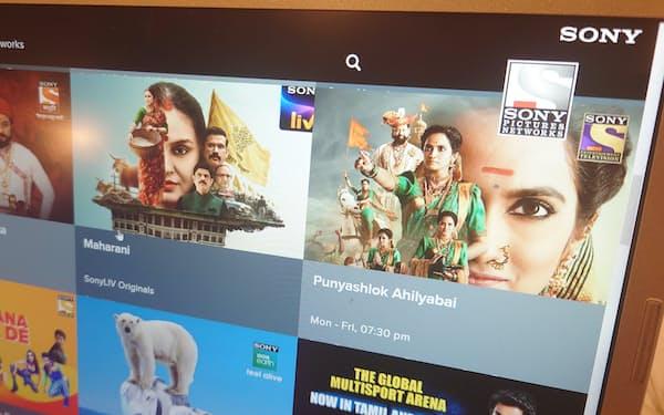 ソニーはインドで26の有料チャンネルを運営している