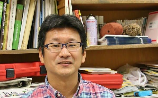 神戸大学の源利文教授=同大提供