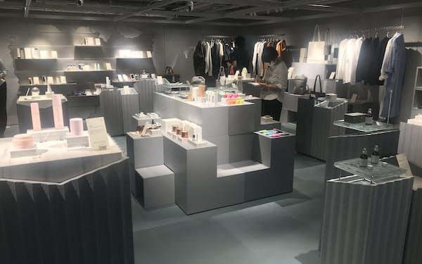 商品を買う順番やどれくらい時間をかけて選んだかなどを分析する(西武渋谷店)