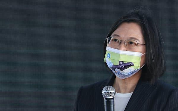 蔡英文(ツァイ・インウェン)総統はTPP加盟に向けて根回しを進めてきた=ロイター