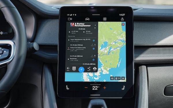 「アンドロイド・オートモーティブ」を採用したボルボ・カー(スウェーデン)の電気自動車(EV)