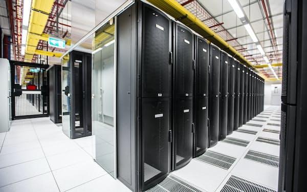 米エクイニクスのデータセンター