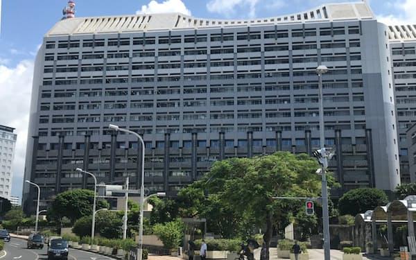 沖縄県庁(那覇市)