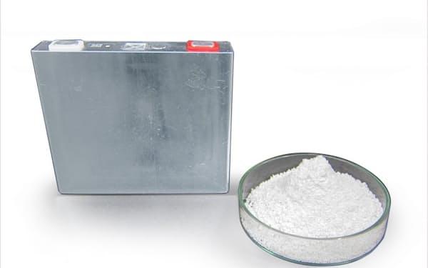 負極材に「ニオブ」を使うリチウムイオン電池の試作品を製作した(試作品)