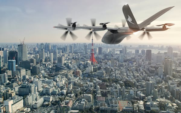 丸紅は日本での空飛ぶクルマの実現に向け、英電動旅客機スタートアップのバーティカル・エアロスペースと業務提携を結んだ