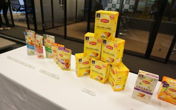 紅茶ブランド「リプトン」を世界各地で展開している