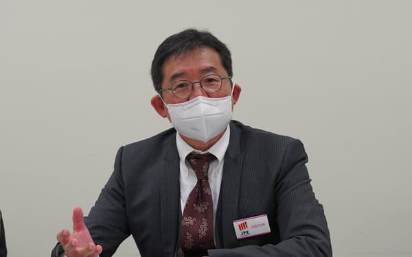 レナサイエンスの宮田敏男会長 (24日)