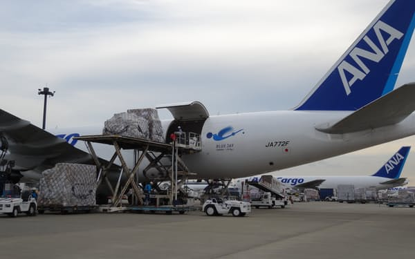 航空貨物輸出量は9カ月連続で前年を上回った