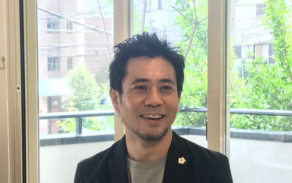 MOON-Xを創業した長谷川晋氏