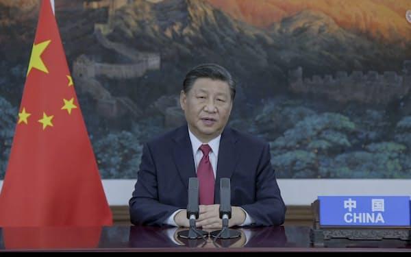 習政権は中国恒大の状況を安定させる意向をまだはっきりとは示していない=AP