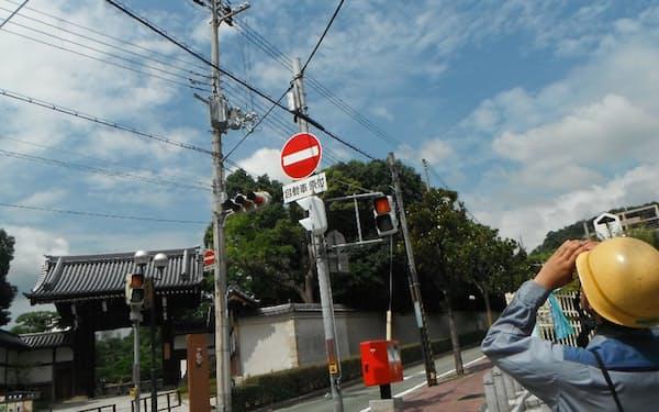 関西電力送配電は電柱の巡視の際に様々なデータを蓄積する