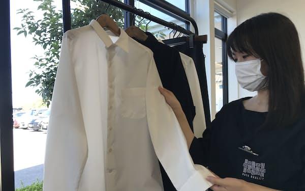 油汚れや黄ばみ防止、制菌でアイロン不要の「永遠シャツ」