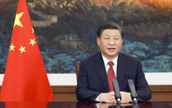 中国の習近平国家主席=新華社・共同