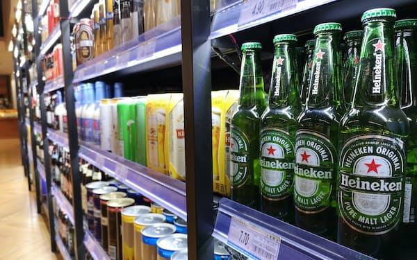 華潤は「ハイネケン」など中高級ビール生産の拡大を進めている