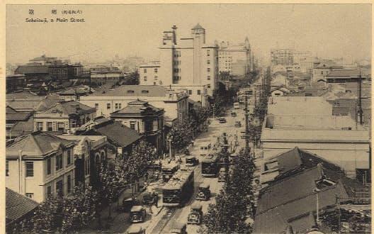 1931年頃の堺筋