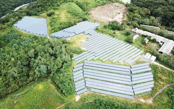 京葉ガスなどは稼働済みの太陽光発電所を買い取り売電するファンドに出資した