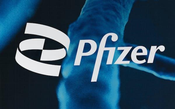 ファイザーはアトピー性皮膚炎治療に使う新薬の承認を日本で取得した=AP