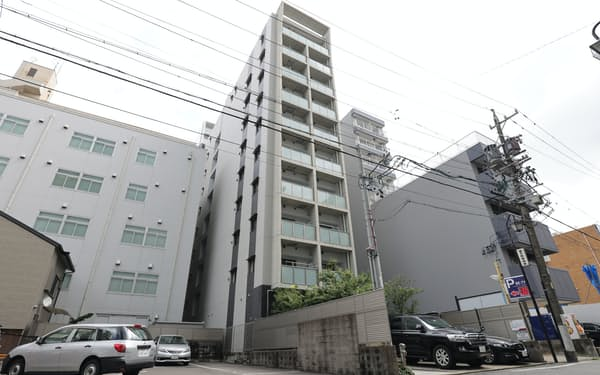 愛知の住宅地価格で2位の丸の内1丁目付近(名古屋市中区)