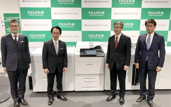 4月から富士フイルムビジネスイノベーションとして再スタートを切った
