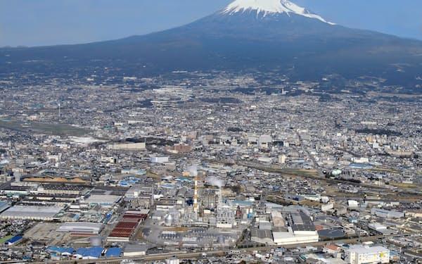 日本製紙は紙コップの水平リサイクルへ専用設備を導入する(静岡県富士市の工場)