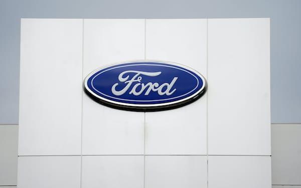 米フォードは韓国・SKイノベーションと車載電池の合弁工場を建設する=AP