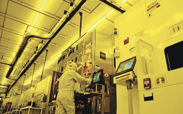TSMCをはじめとした製造受託企業の存在感が増している(TSMCの工場)