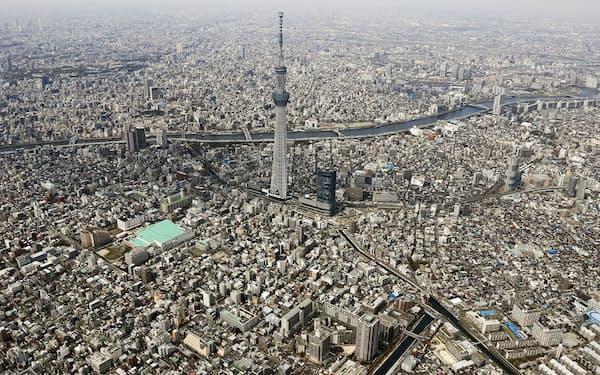 コロナ禍で東京は転出超過が続く