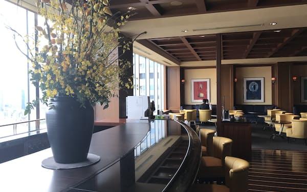 10月1日から高価格帯客室の宿泊客だけが使えるラウンジを開業する(大阪市)