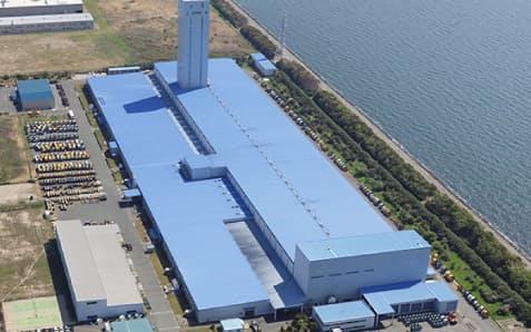 昭和電線ケーブルシステムの愛知工場(愛知県豊川市)