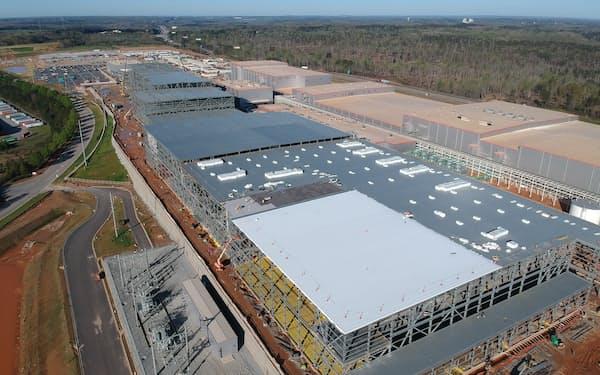 SKイノベーションは米国内3カ所で電池工場を建設する(ジョージア州の工場建設地)