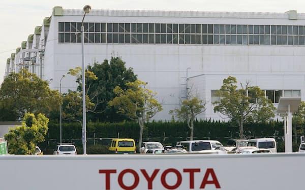愛知県豊田市のトヨタ自動車高岡工場