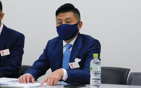 ROBOT PAYMENTの清久健也社長(28日)