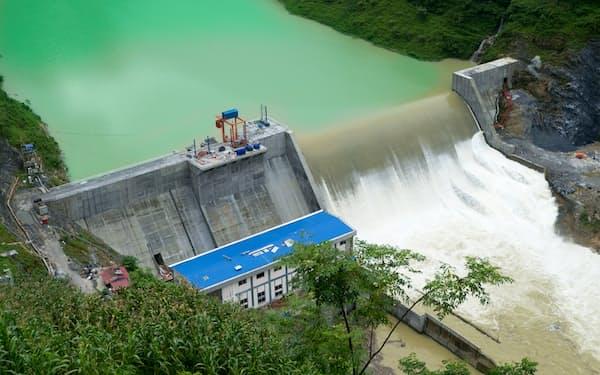 ビテクスコはベトナムで水力発電所を手掛ける