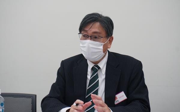 ジィ・シィ企画の矢ケ部社長