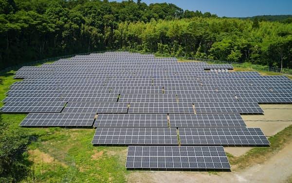 NTTグループが保有する太陽光発電設備