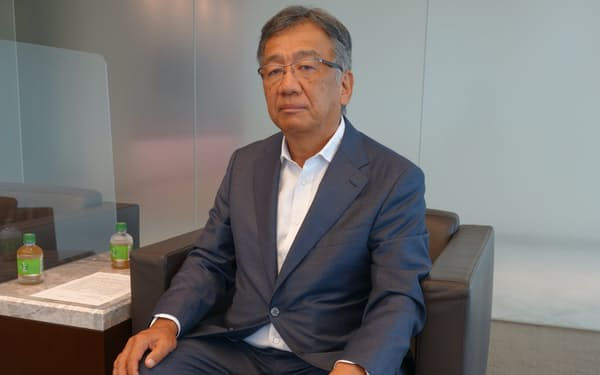 三菱ケミカルの和賀昌之社長