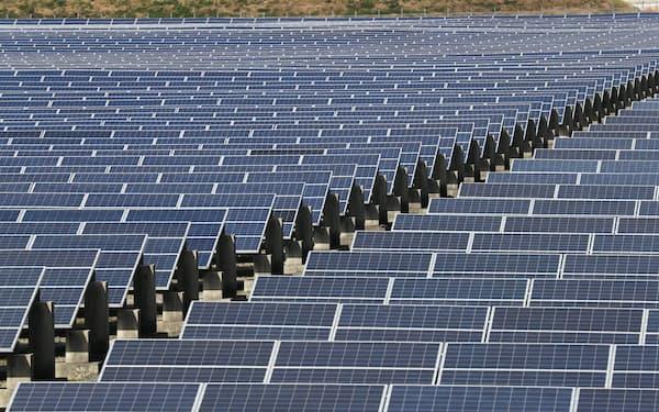 福岡県内の太陽光発電所
