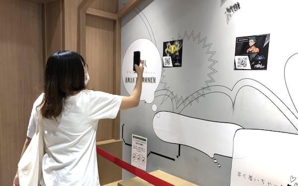 ゲームや漫画とXR技術を連動させて街を周遊してもらう(東京・渋谷)