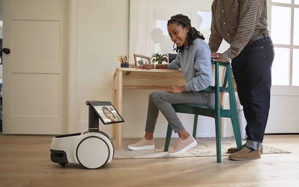 アマゾン幹部は家庭用ロボットについて「事業化の好機だ」と述べた=AP
