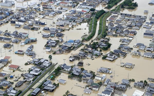 保険を通じて企業に水害への備えを促す