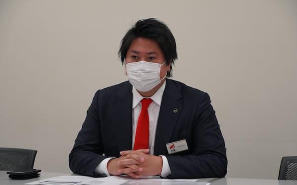プロジェクトカンパニーの土井悠之介社長
