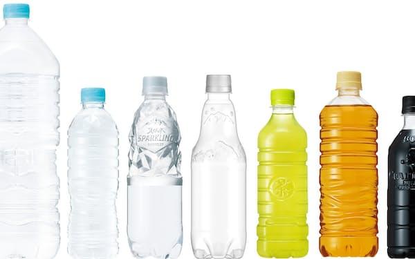 「サントリー天然水」ブランドのミネラルウオーターでは初のラベルレス商品となる