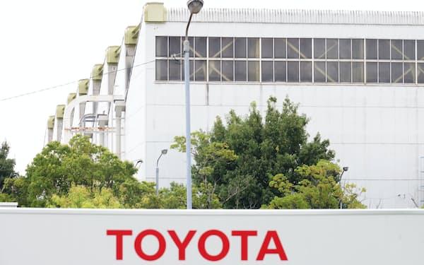 トヨタ自動車は8月の世界生産が16%減だった(愛知県豊田市の工場)
