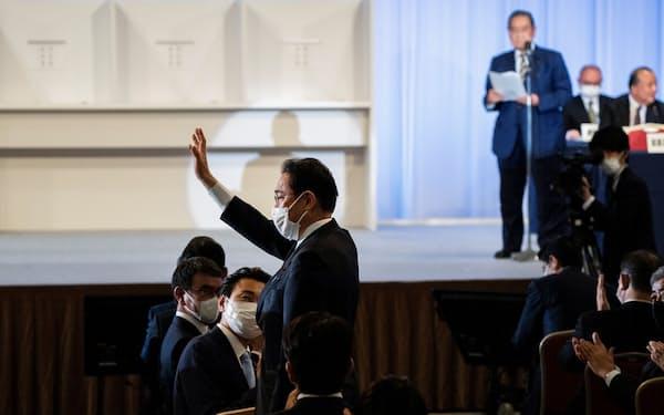 自民党新総裁に岸田氏が選出されたことを海外メディアも速報した(29日)=ロイター