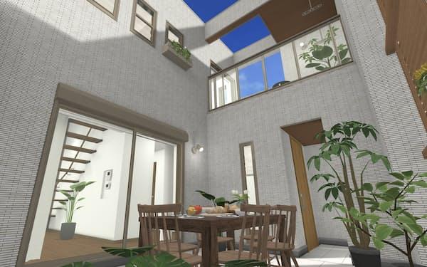 戸建ては仕様が異なる3D映像がより多く必要になる
