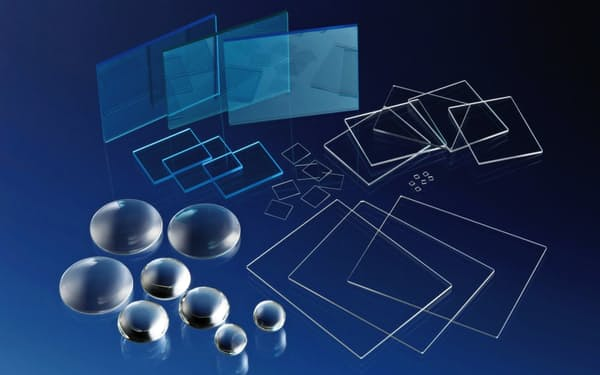 日本電気硝子が手がける電子部品用ガラス